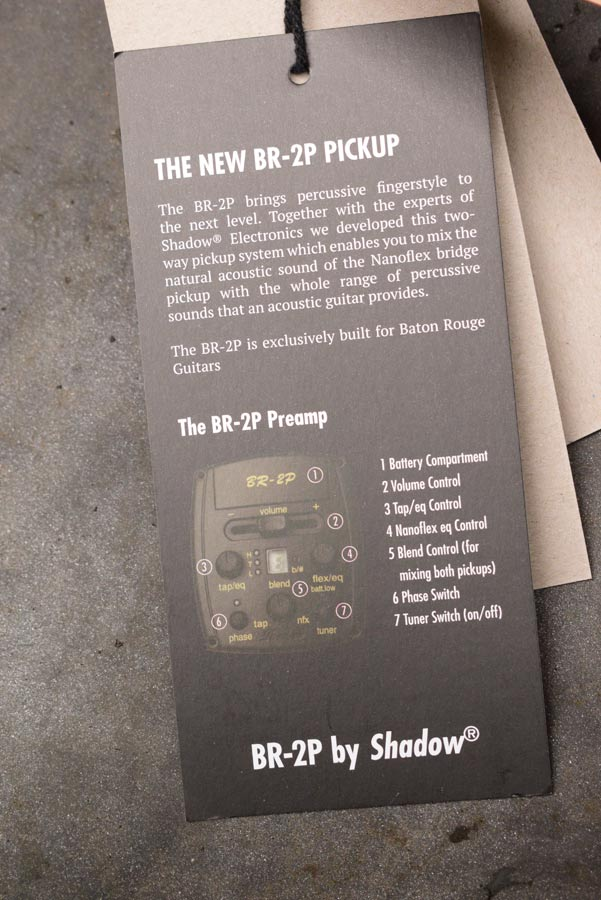 Shadow BR-2P pickup systeem