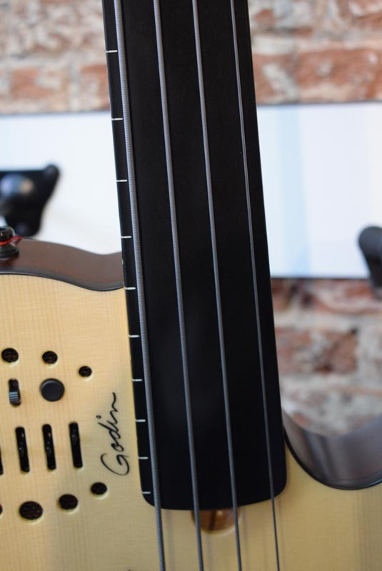 Godin A4 Ultra fretless bass