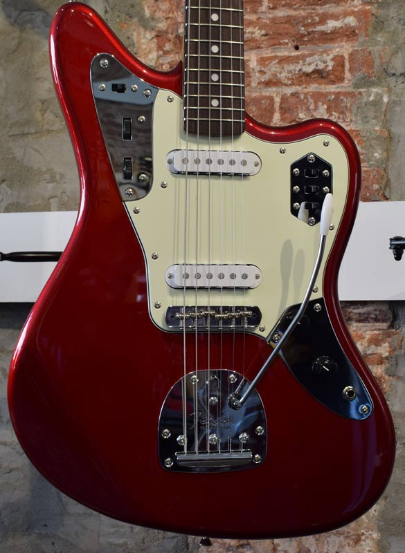 Fender Classic 60s jaguar Japan Old Candy Apple Red
