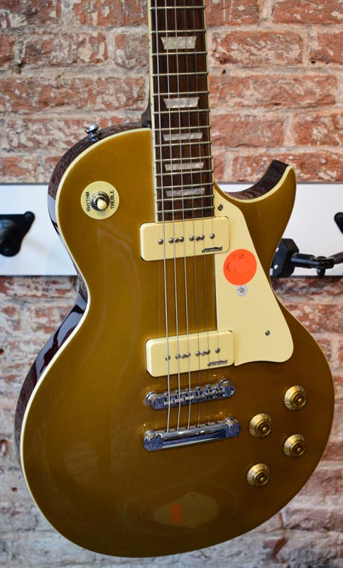 Vintage Reissued V100GT Gold Top