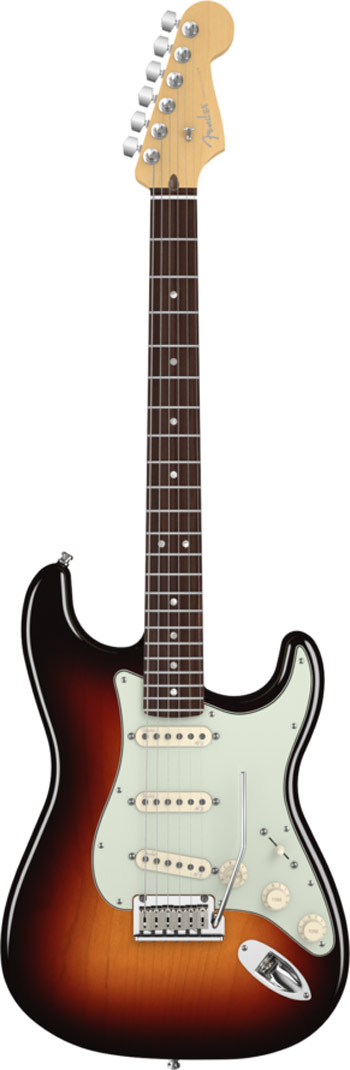 Fender Stratocaster Deluxe front