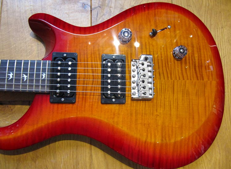 PRS S2 Custom 24 Dark cherry sunburst