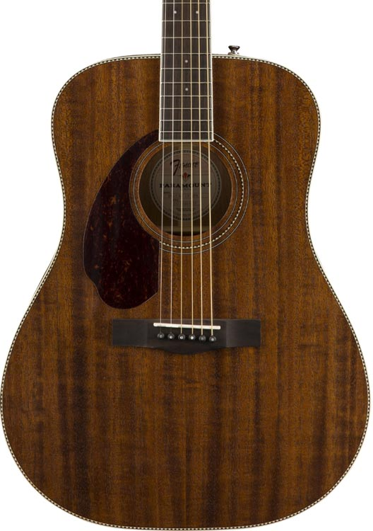 Fender PM1 dreadnought All Mahogany LH Paramount