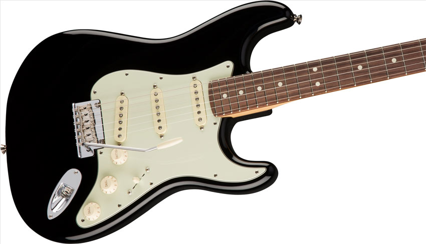 Fender American Professional Stratocaster Black RW