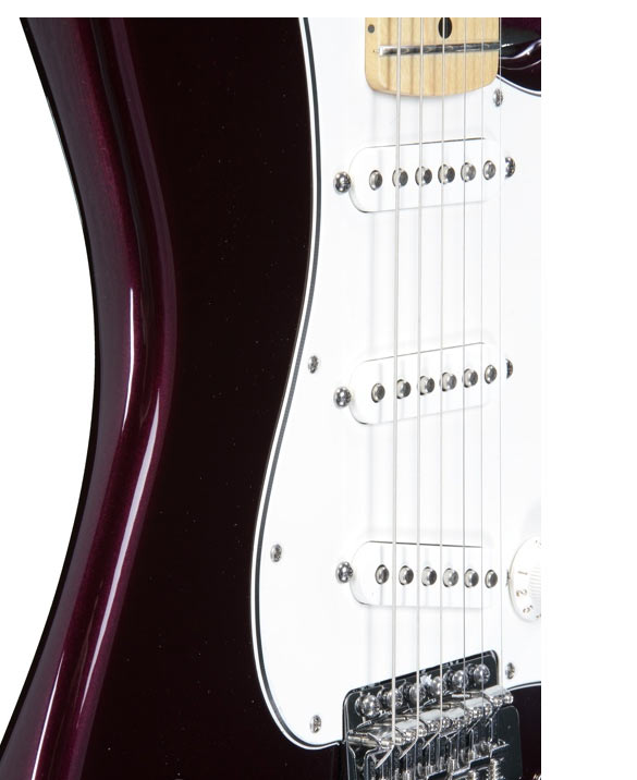 Fender American Standard Stratocaster Midnight Wine maple