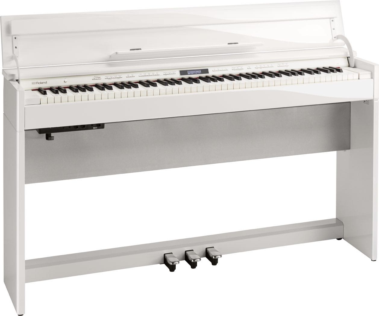 Hoogglans Witte Piano.Roland Dp603 Pw Hoogglans Wit Digitale Piano
