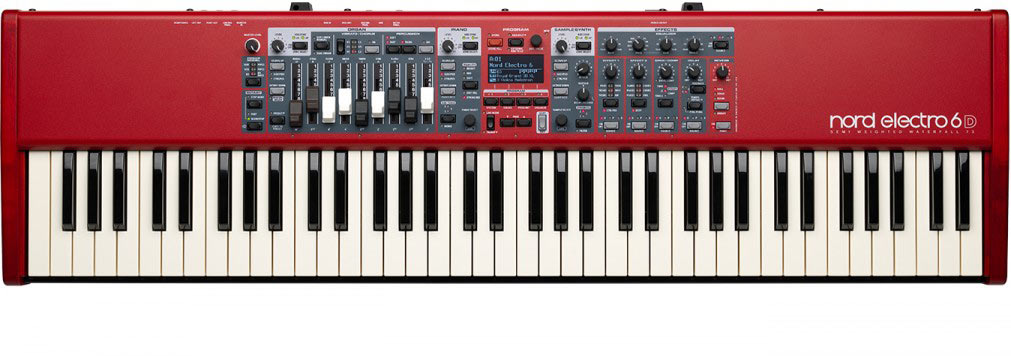 Nord Electro 6D 73 stage keyboard